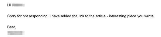 Link earned through Shotgun Skyscraper